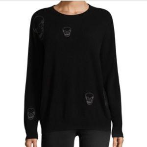 360 cashmere skull 💀 sweater